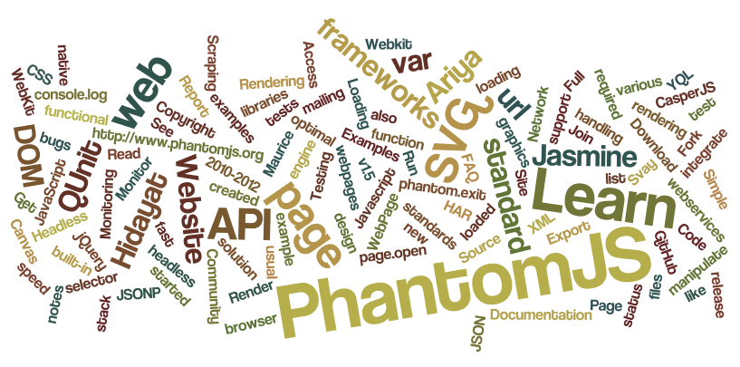 PHP function to return PhantomJS result