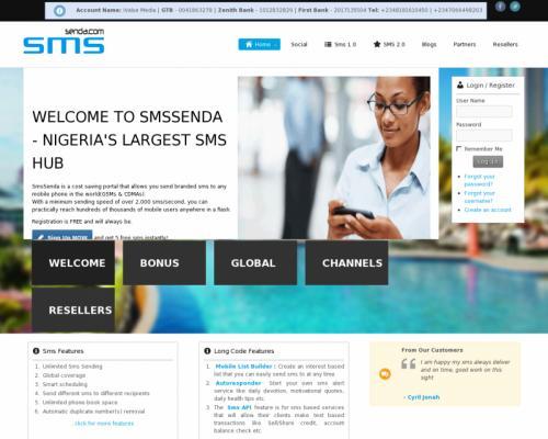 SMSSENDA.COM