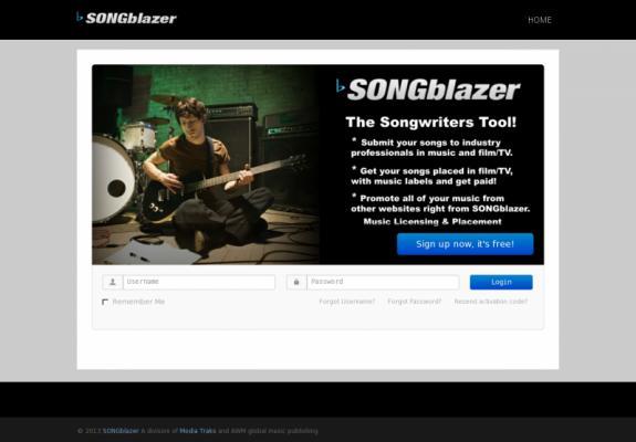 SONGBLAZER.COM